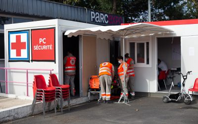Poste de secours Foire Expo   La Rochelle