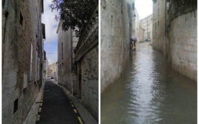Plan de crise inondations de Saintes